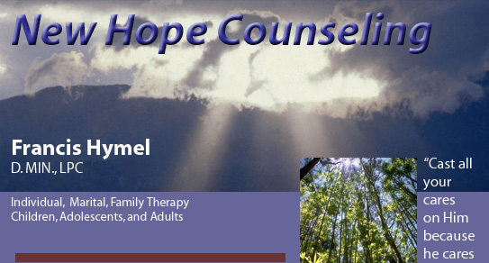 New Hope Counseling, Theophostic Ministry